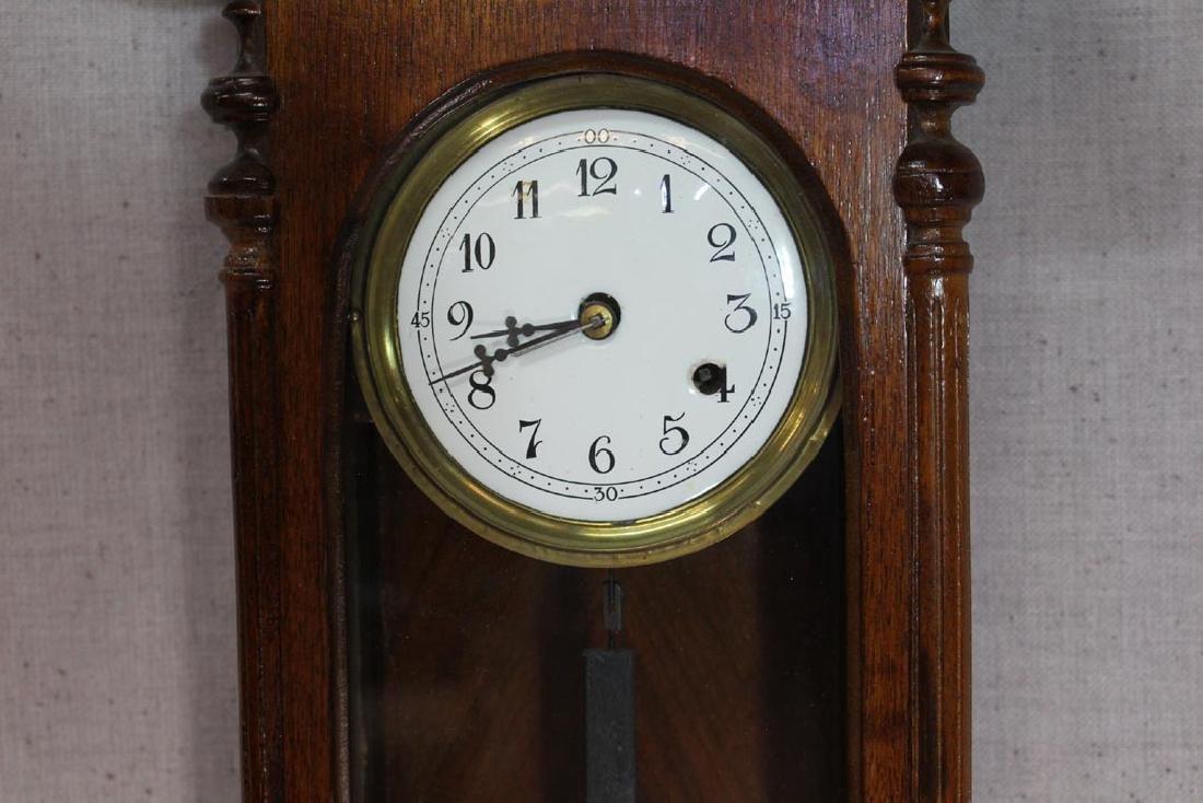 Mahogany  Junghans Wall Clock - 2