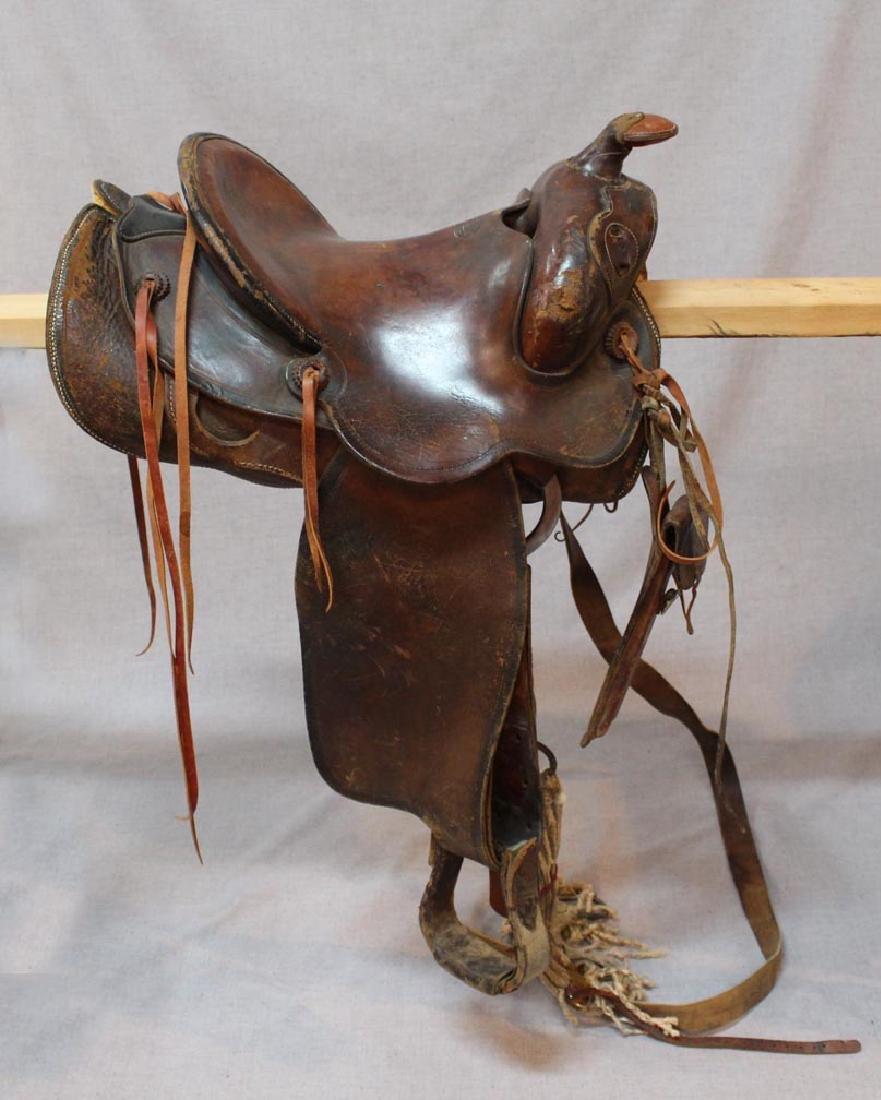 R.T. Frazier Pueblo Colo. Saddle