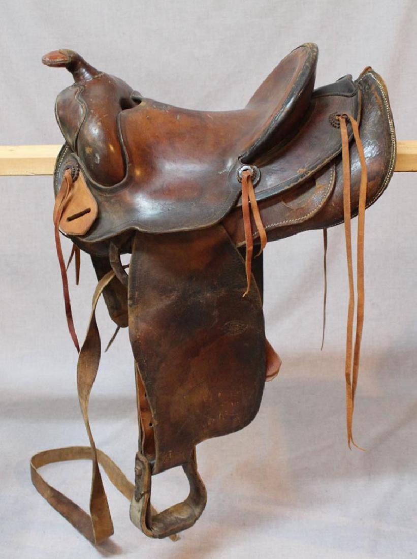 R.T. Frazier Pueblo Colo. Saddle - 7
