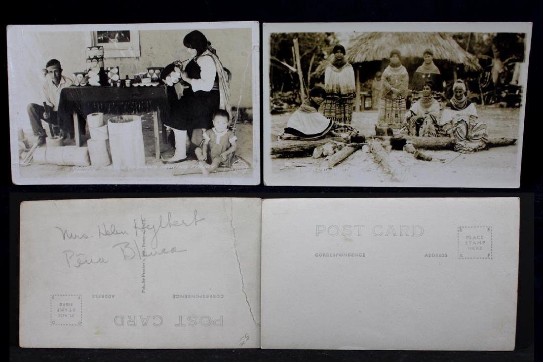 Nine Photograph Post Cards With Indians - 3