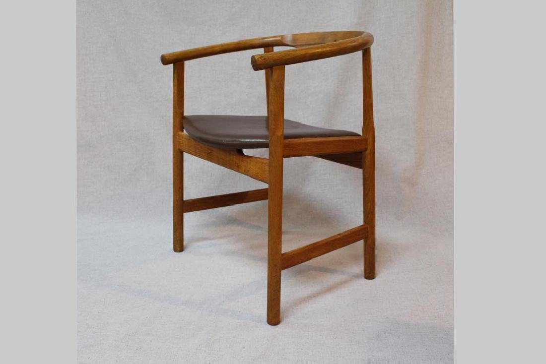 Hans Wegner (Danish 1914 - 2007) Oak Arm Chairs - 2