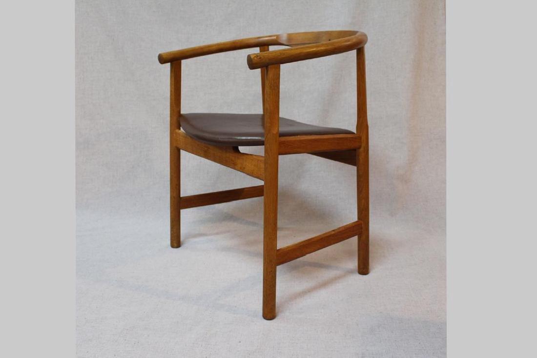 Hans Wegner (Danish 1914 - 2007) Oak Arm Chairs - 2