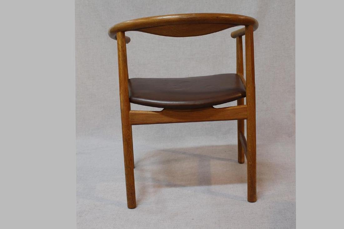 Hans Wegner (Danish 1914 - 2007) Oak Arm Chairs - 3