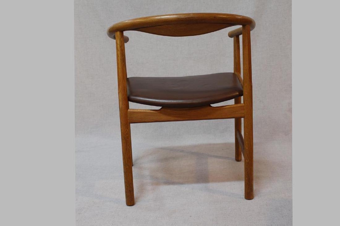 Hans Wegner (Danish 1914 - 2007) Oak Arm Chairs - 3