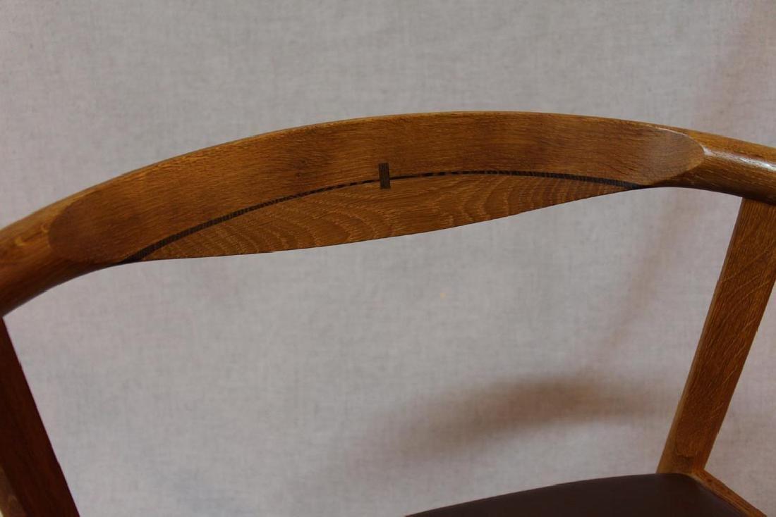 Hans Wegner (Danish 1914 - 2007) Oak Arm Chairs - 4