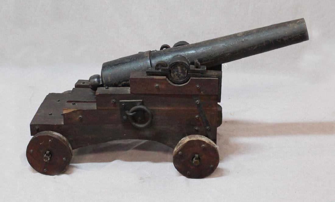 1830s Iron Cannon
