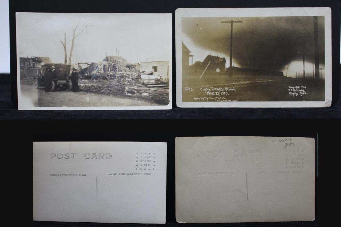 Nine 1913 Omaha Tornado Post Cards - 3