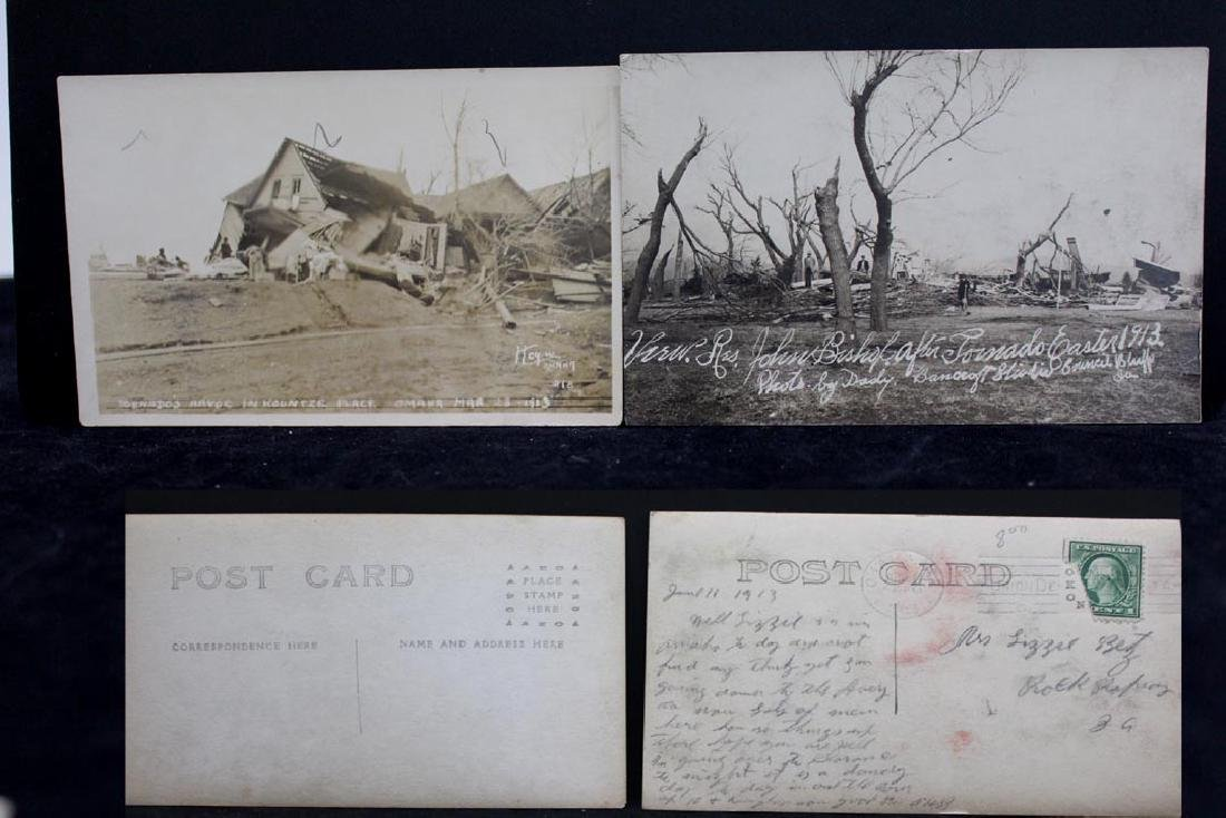 Nine 1913 Omaha Tornado Post Cards - 4