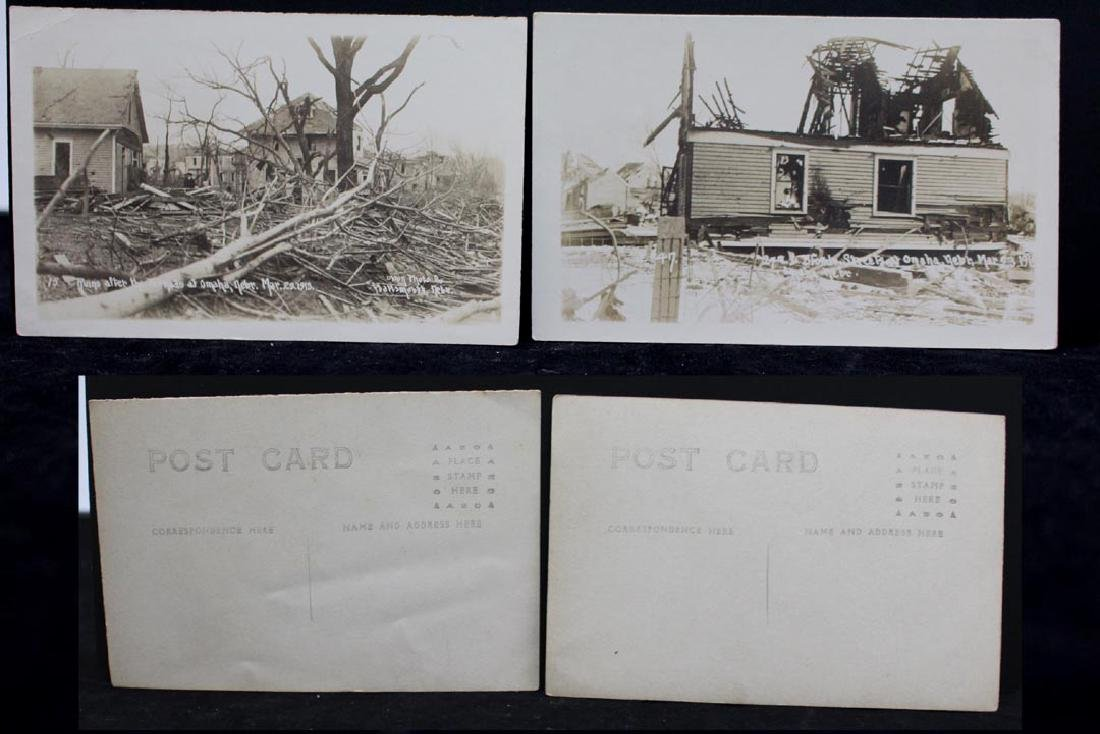 Nine 1913 Omaha Tornado Post Cards - 5
