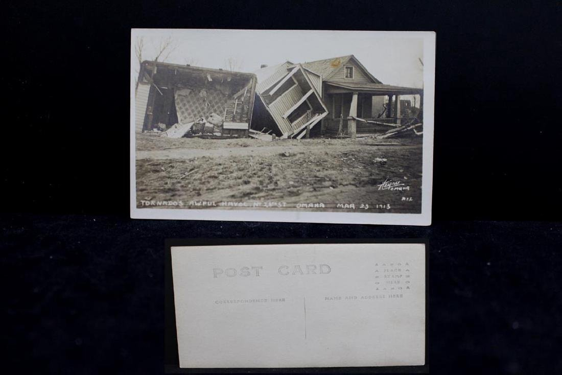 Nine 1913 Omaha Tornado Post Cards - 6