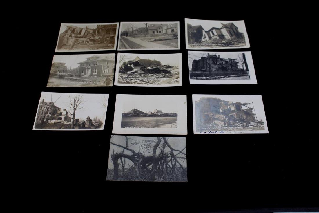 Ten 1913 Omaha Tornado Post Cards