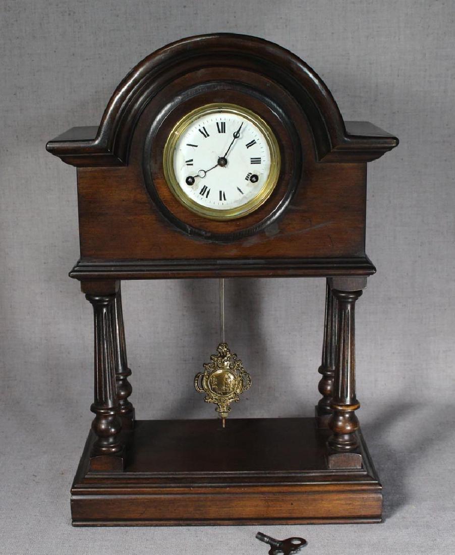 German Portico Clock