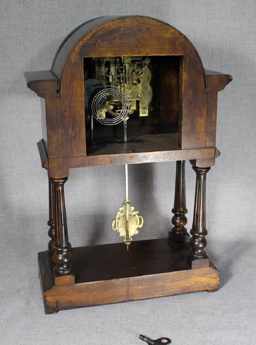 German Portico Clock - 3