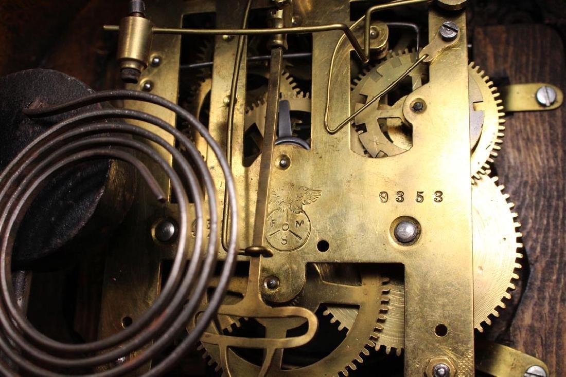 German Portico Clock - 4