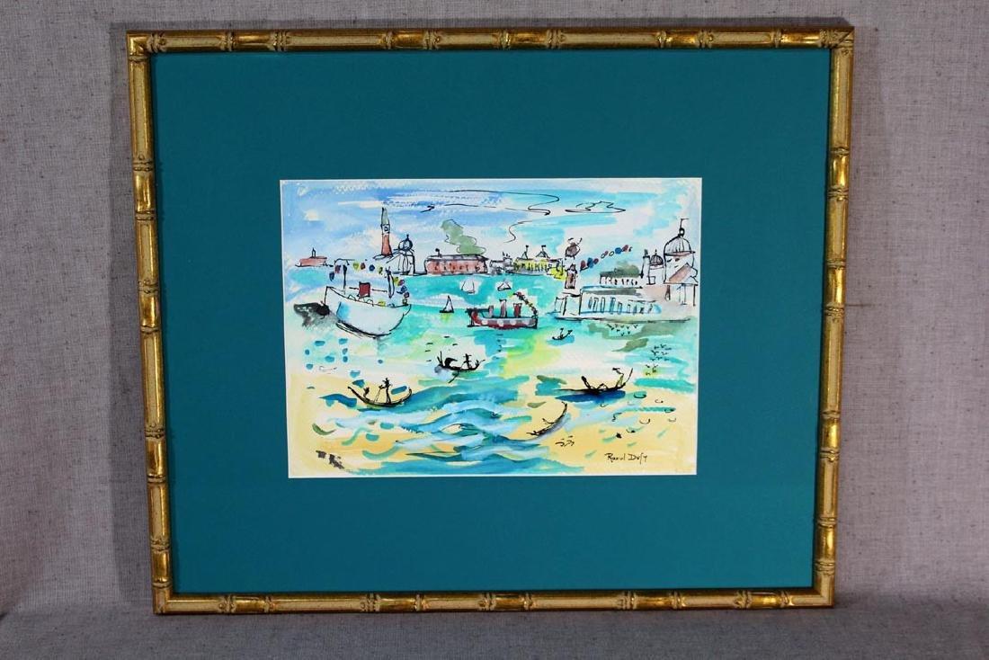 Raoul Dufy Original Water Color