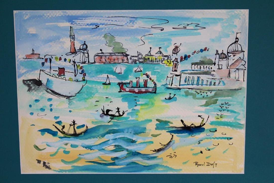 Raoul Dufy Original Water Color - 2