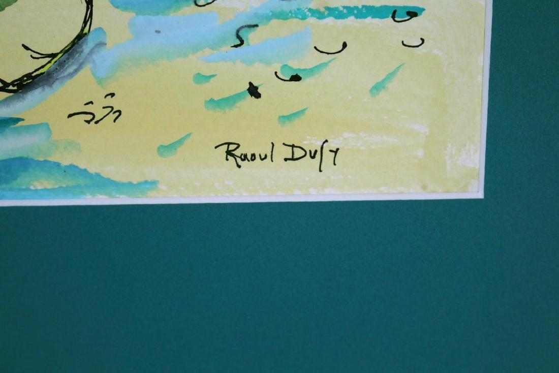 Raoul Dufy Original Water Color - 3