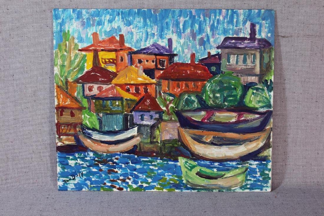 Oil On Panel Signed Jean Dufy - 2