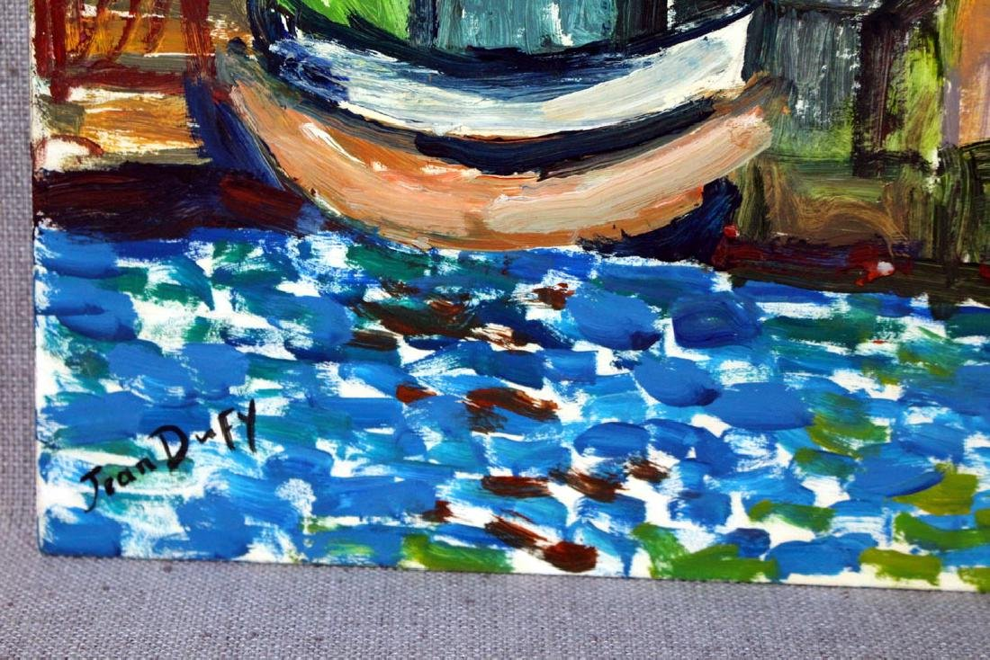 Oil On Panel Signed Jean Dufy - 3