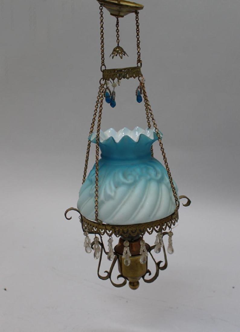 "12"" Tall Kerosene Hanging Lamp"