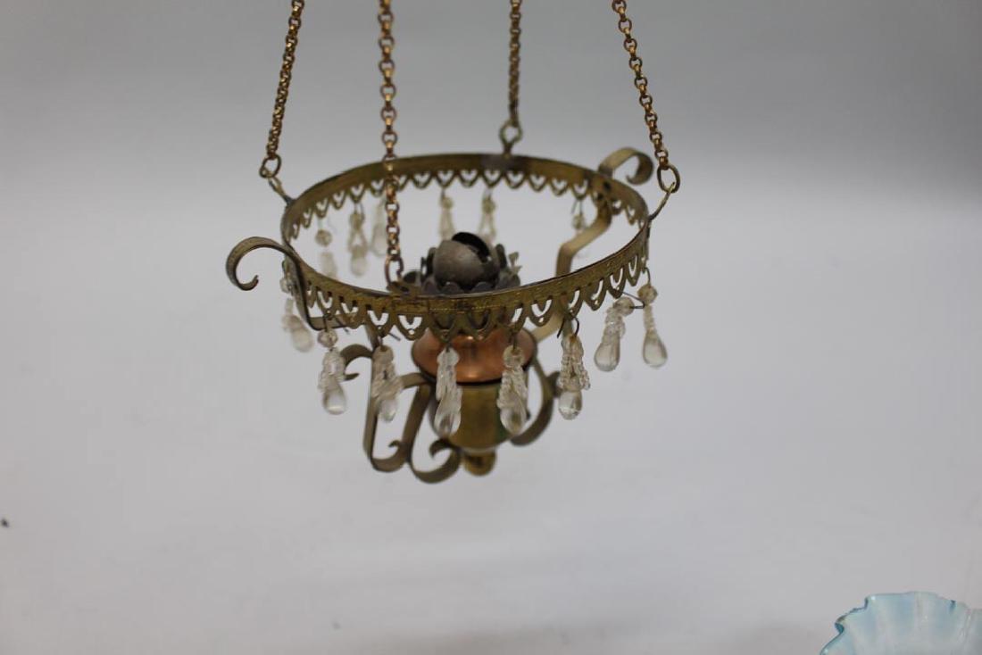 "12"" Tall Kerosene Hanging Lamp - 2"
