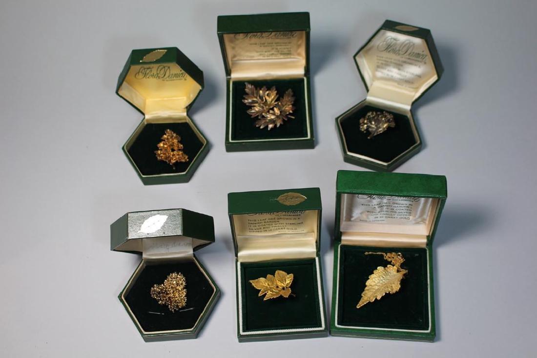 Group Of Flora Danica Eggert Denmark Sterling Jewelry