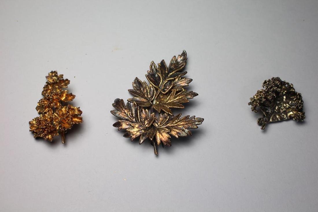 Group Of Flora Danica Eggert Denmark Sterling Jewelry - 3