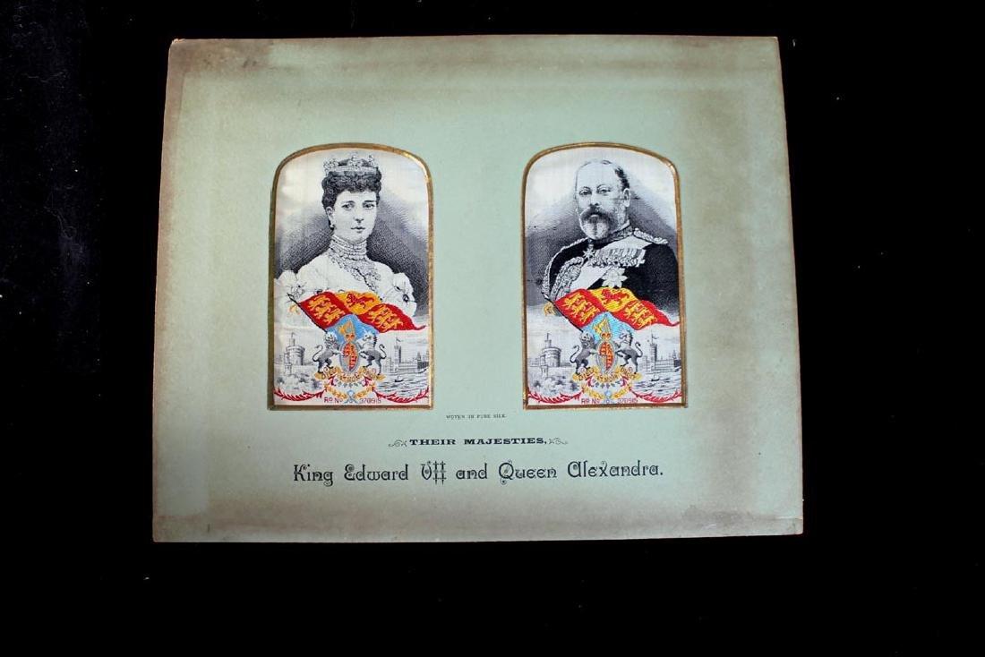 Silk Weavings of Edward VII And Alexandra