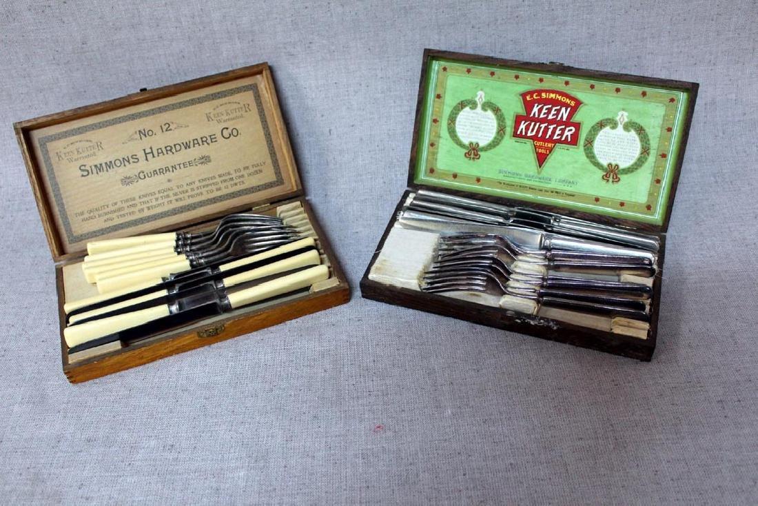 Two Sets Of Keen Kutter Silverware