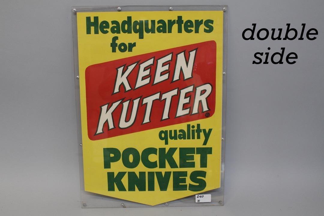 Three Keen Kutter Signs - 3
