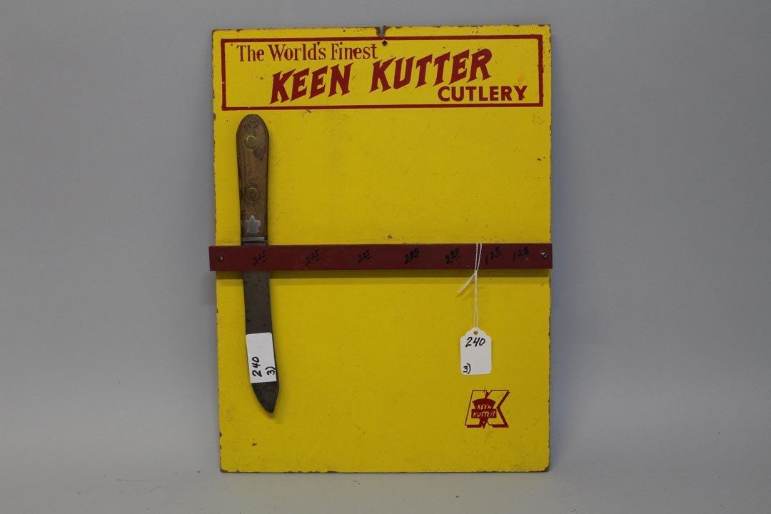 Three Keen Kutter Signs - 4