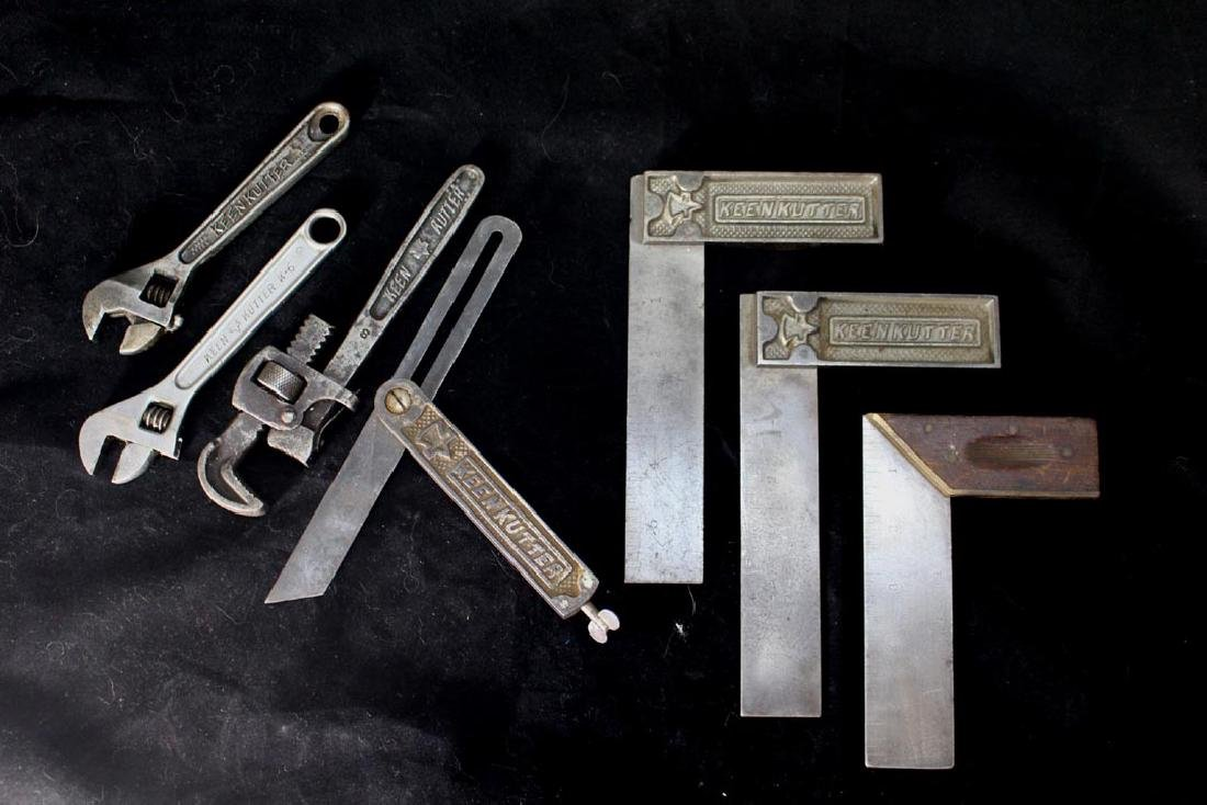 Group Of Seven Keen Kutter Tools
