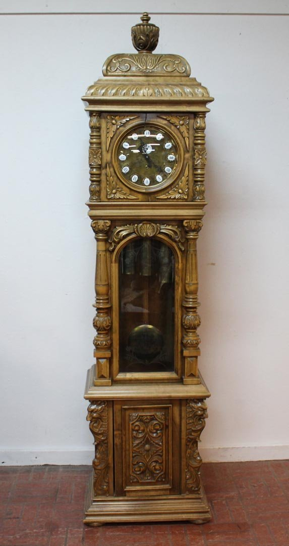 Hand Crafted Gazo Grandfather Clock