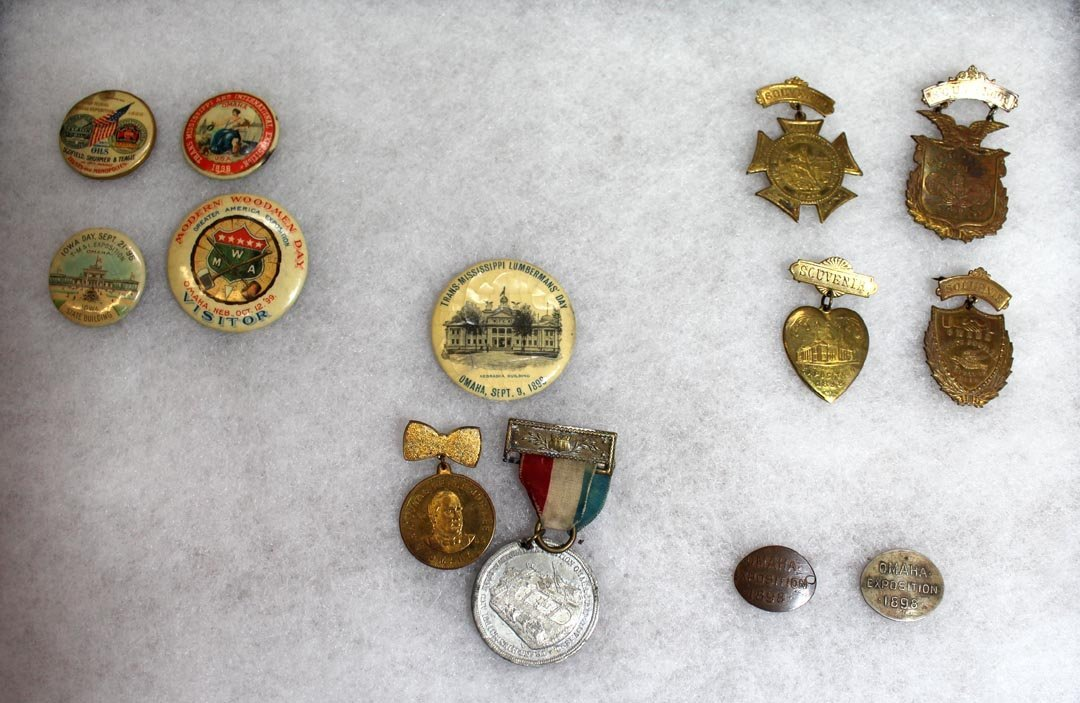 1898 - 1899 Trans-Mississippi Exposition Pins