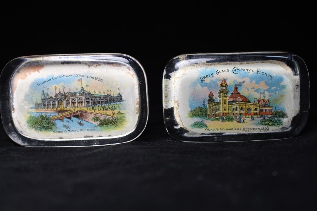 Group Of World's Fair And Exposition Paperweights - 2