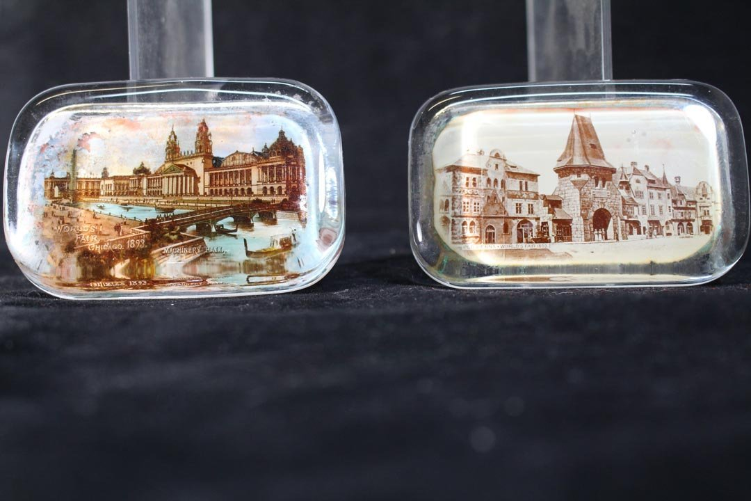Group Of World's Fair And Exposition Paperweights - 4