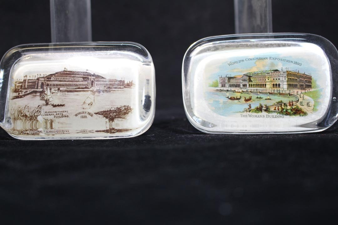 Group Of World's Fair And Exposition Paperweights - 5