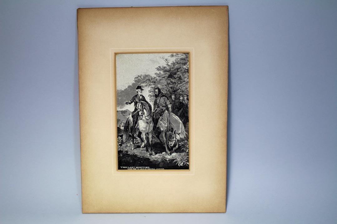 Stevensgraph: Robert E. Lee & Jackson