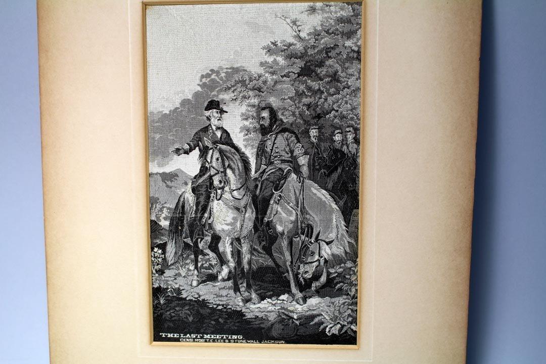 Stevensgraph: Robert E. Lee & Jackson - 2