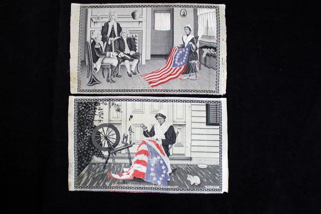 Two Stevensgraphs: Betsy Ross