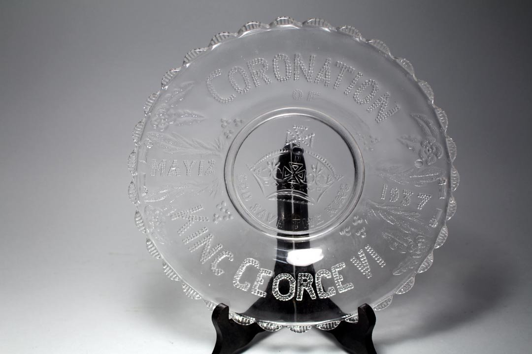 Five Pieces Of Coronation Glass - 4