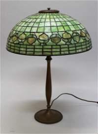 "Tiffany ""Acorn"" Table Lamp"