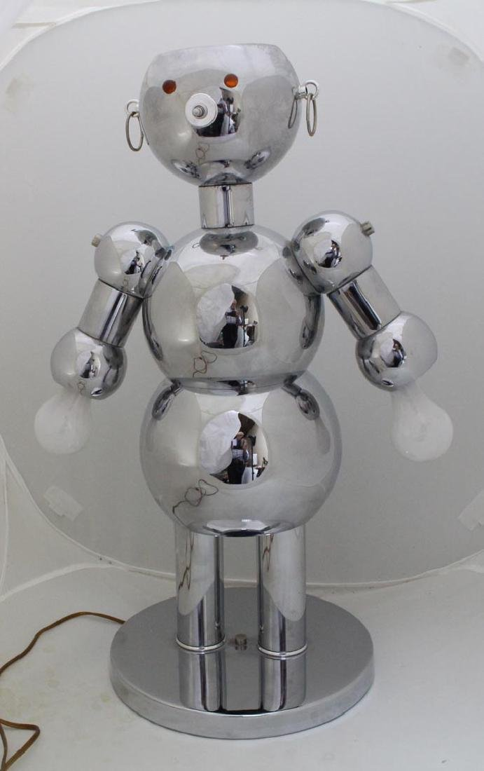 Torino Female Robot Lamp