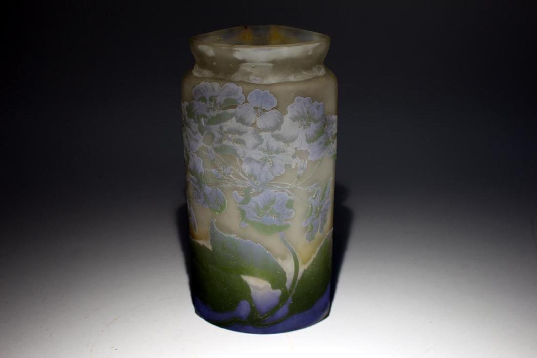 Cameo Glass Vase