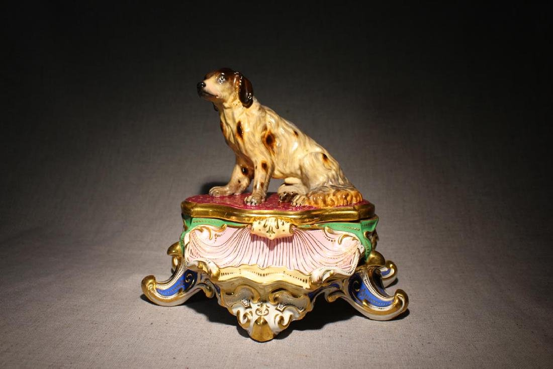 Old Paris Figural Inkwell