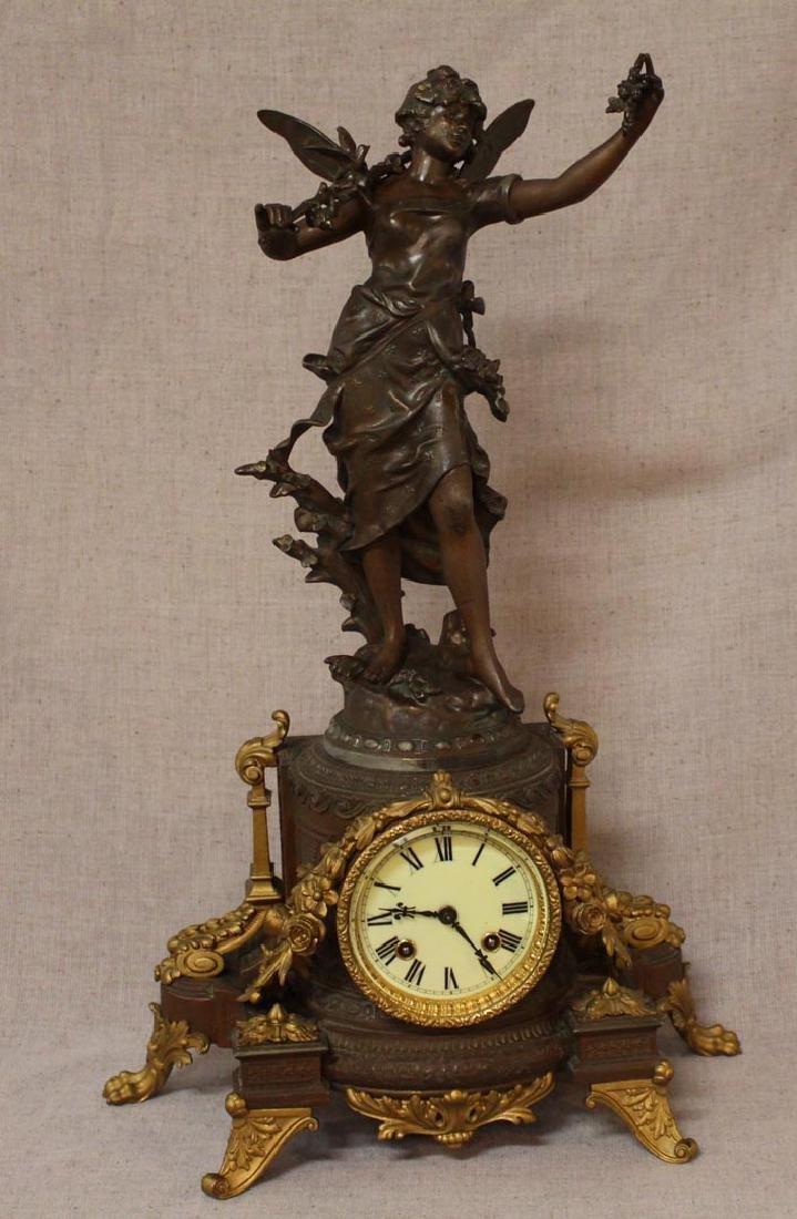 Ansonia Statue Clock
