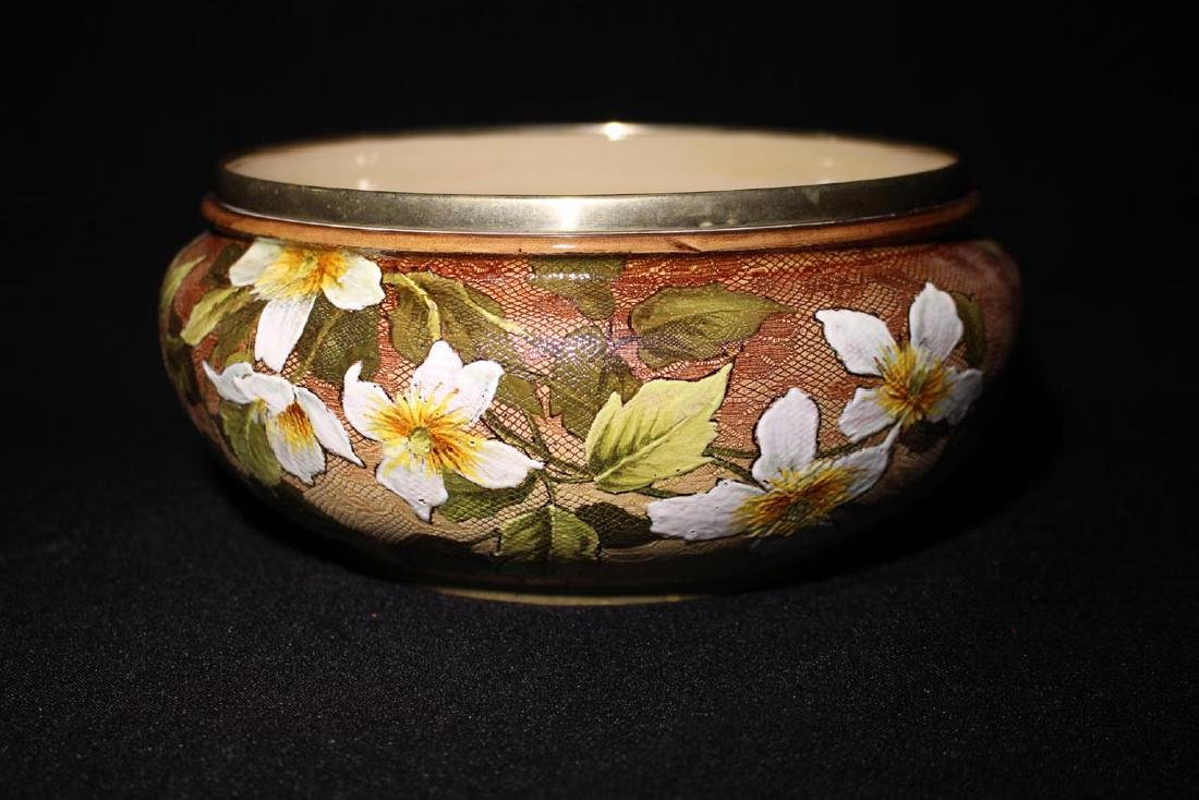 Doulton Lambeth Tapestry Bowl