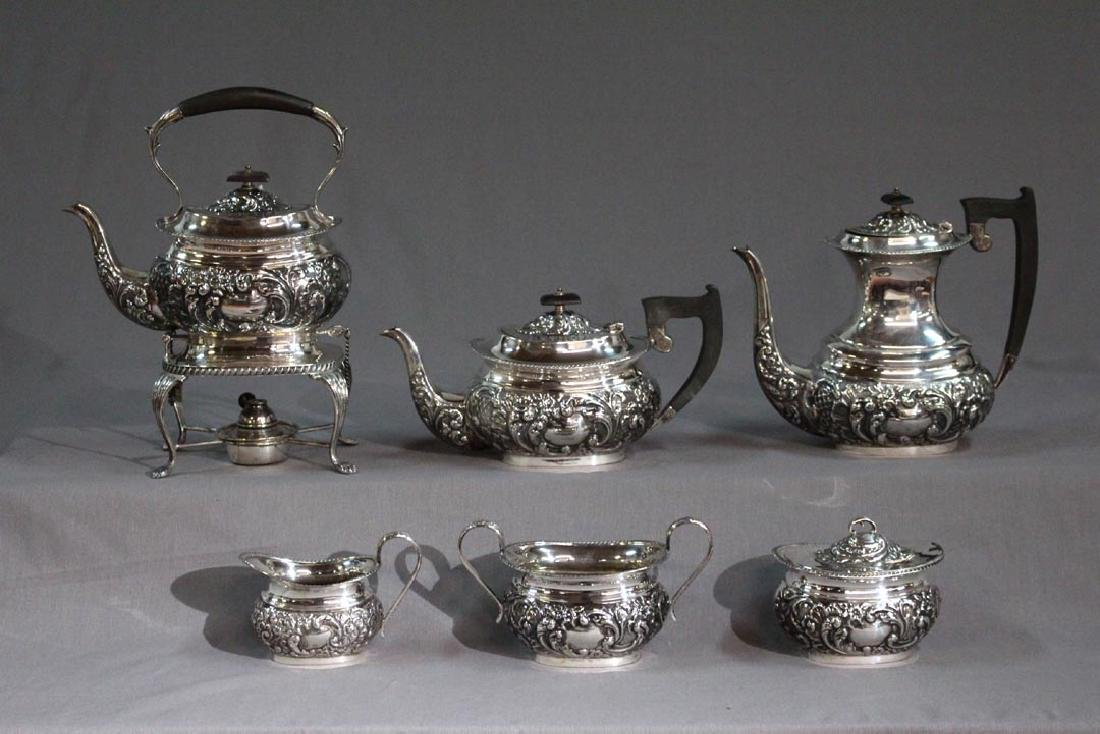 E. Viners Sterling 6-Piece Tea And Coffee Service