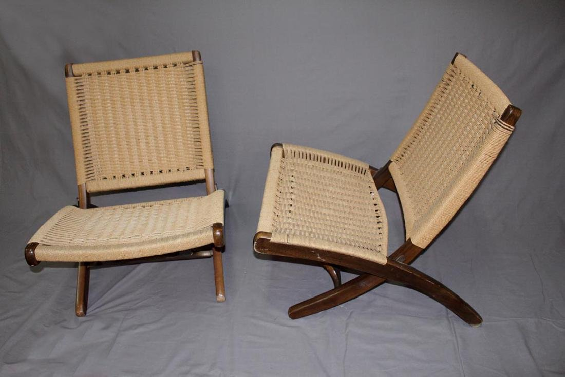 Hans Wegner Era Folding Chairs