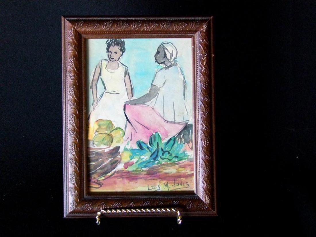 Lois M. Jones (1905-1998) Watercolor